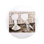 """Voorburg Pigeon Pair 3.5"""" Button (100 pack)"""