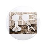 """Voorburg Pigeon Pair 3.5"""" Button"""