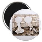 """Voorburg Pigeon Pair 2.25"""" Magnet (100 pack)"""