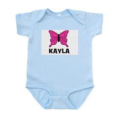 Butterfly - Kayla Infant Creeper
