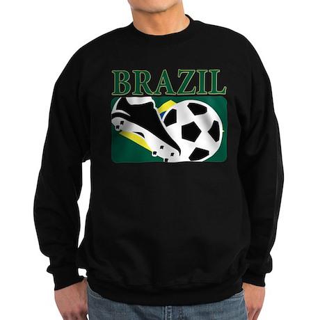 Brazilian World cup soccer Sweatshirt (dark)