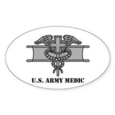 Expert Medical Badge Oval Decal