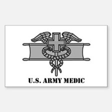 Expert Medical Badge Rectangle Decal