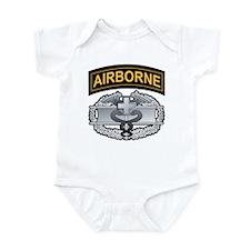 Combat Medic Badge with Airbo Infant Bodysuit