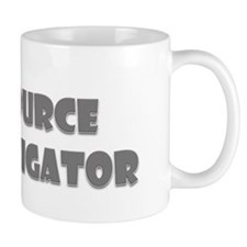 Resource Investigator Grey Mug