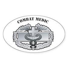 CMB Combat Medic Oval Decal