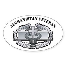 CMB Afghanistan Veteran Oval Decal