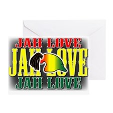 JAH LOVE2 Greeting Card