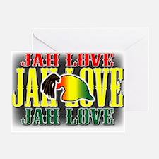 JAH LOVE2 Greeting Card