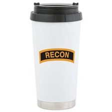 Recon Tab Black and Gold Travel Mug