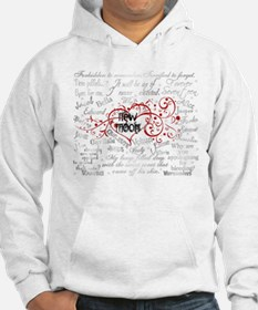 New Moon Quotes Hoodie