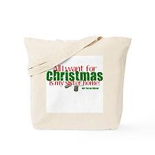 All I want Sister AF Sister Tote Bag