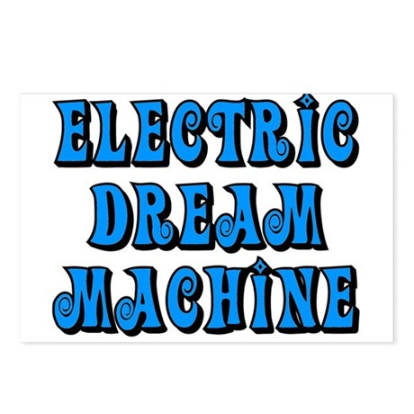 Electric Dream Machine Postcards (Package of 8)
