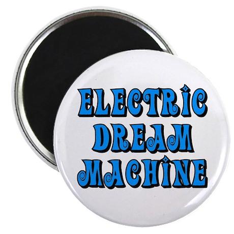 "Electric Dream Machine 2.25"" Magnet (10 pack)"