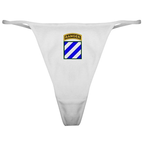 3rd Infantry Div Ranger Tab Classic Thong