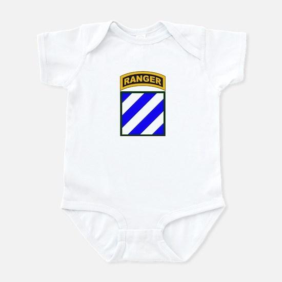 3rd Infantry Div Ranger Tab Infant Bodysuit