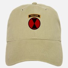 7th Infantry Div with Recon T Baseball Baseball Cap