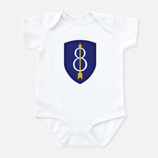 8th Infantry Division Infant Bodysuit