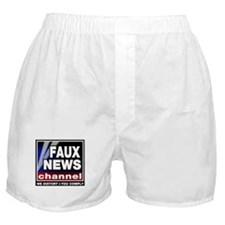 Faux News - On a Boxer Shorts