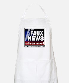 Faux News - On a BBQ Apron