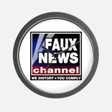 Faux News - On a Wall Clock