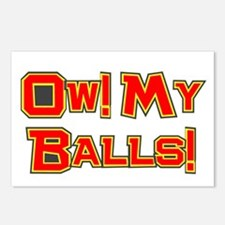 Ow! My Balls! Postcards (Package of 8)