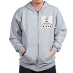 I'LL DO ANYTHING FOR PIZZA Zip Hoodie