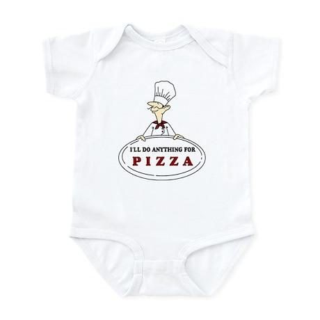 I'LL DO ANYTHING FOR PIZZA Infant Bodysuit