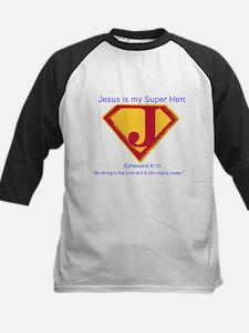 Jesus is My Super Hero Tee