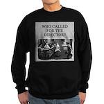 duplicate bridge player gifts Sweatshirt (dark)