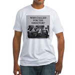 duplicate bridge player gifts Fitted T-Shirt