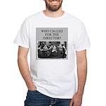 duplicate bridge player gifts White T-Shirt
