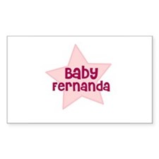 Baby Fernanda Rectangle Decal