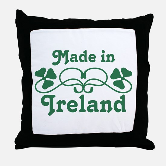 Made In Ireland Throw Pillow