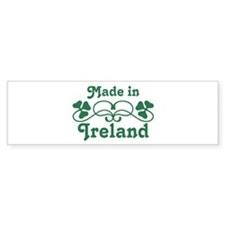 Made In Ireland Bumper Bumper Sticker