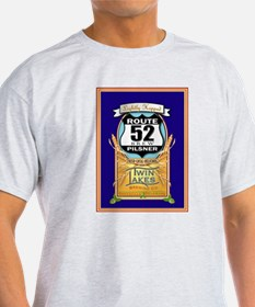 Twin Lakes Route 52 Pilsner T-Shirt