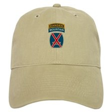 10th Mountain Div with Ranger Baseball Cap