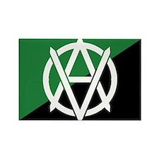 Green_Veganarchy_flag_1_large Magnets