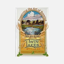 Twin Lakes Logo Rectangle Magnet (10 pack)