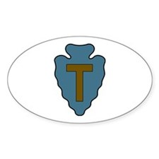 36th Infantry Oval Decal