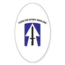 76th Infantry Brigade Oval Decal