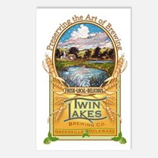 Twin Lakes Brewing Co Postcards (Package of 8)