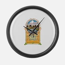 Twin Lakes Brewing Company logo Large Wall Clock