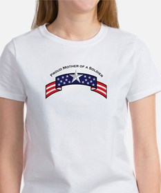 Proud Mother of a Soldier Women's T-Shirt