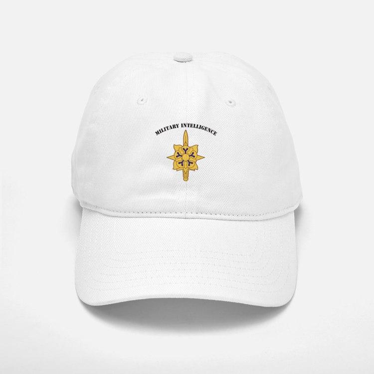 Military Intelligence Baseball Baseball Cap