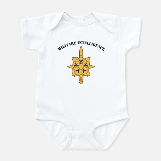 Military Intelligence Infant Bodysuit