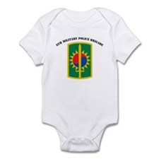8th Military Police Brigade Infant Bodysuit