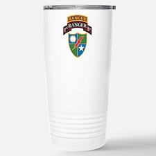 1st Ranger Bn with Ranger Tab Travel Mug