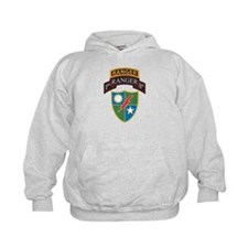 1st Ranger Bn with Ranger Tab Hoodie