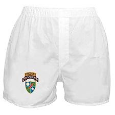 2nd Ranger Bn with Ranger Tab Boxer Shorts